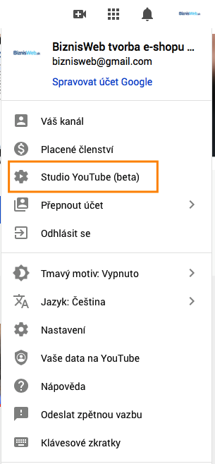 Studio Youtube