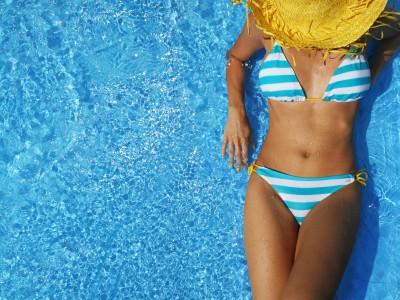 Bikini barevné