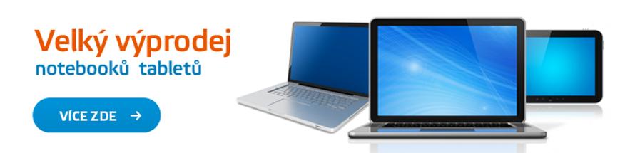Velký výprodej notebooků a tabletů